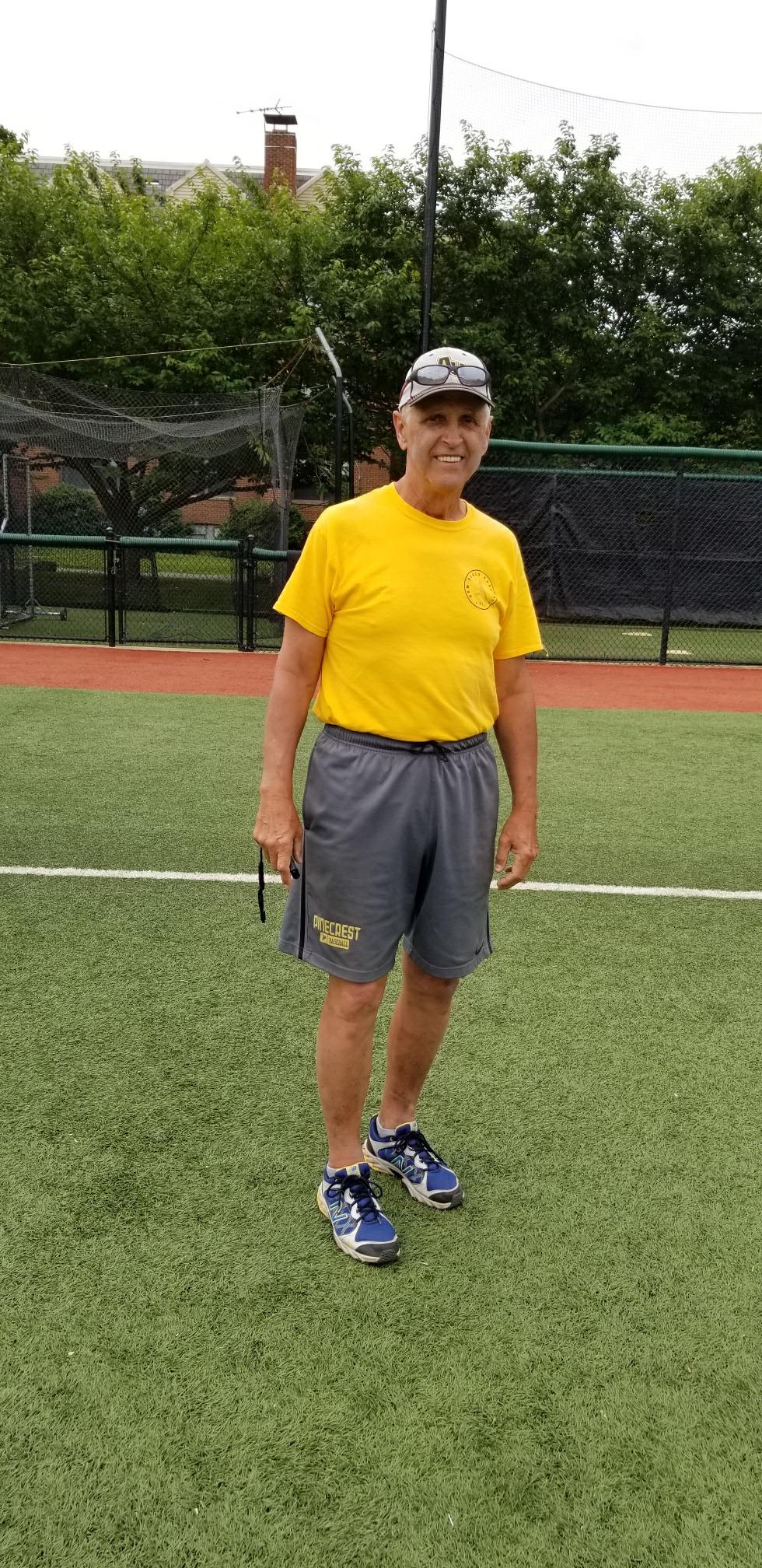Coach Kevin Salmon